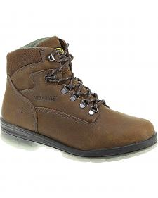 "Wolverine Durashocks 6"" Waterproof Insulated Work Boots"