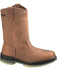 Wolverine DuraShocks� Insulated Waterproof Pull-On Work Boots - Steel Toe