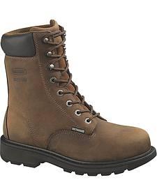 "Wolverine McKay 8"" Work Boots - Steel Toe"