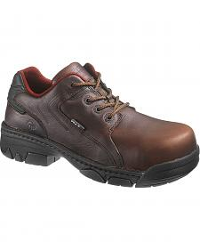 Wolverine Falcon Oxford Work Shoe - Composite Toe