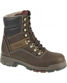 "Wolverine Cabor 8"" Waterproof Work Boots - Composition Toe"