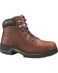 "Wolverine Harrison 6"" Work Boots - Steel Toe"