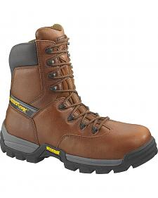 "Wolverine Guardian 8"" CarbonMax Work Boots - Composite Toe"