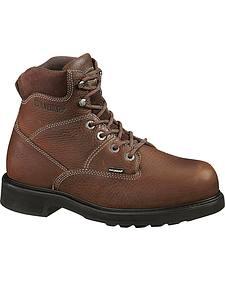 "Wolverine Tremor 6"" Slip-Resistant Work Boots"