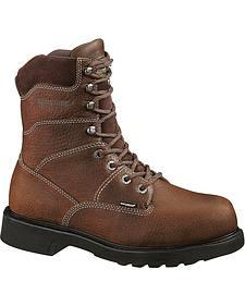 "Wolverine Tremor 8"" Slip Resistant Work Boots"