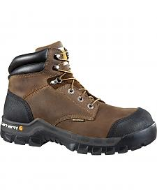 "Carhartt 6"" Composite Toe Rugged Flex Waterproof Work Boots"