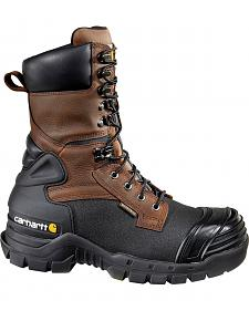 "Carhartt 10"" Composite Toe Waterproof Insulated Pac Boots - Extended Widths"