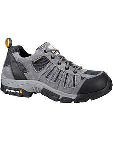 Carhartt Lightweight Waterproof Low-Rise Hiker Work Shoe - Safety Toe