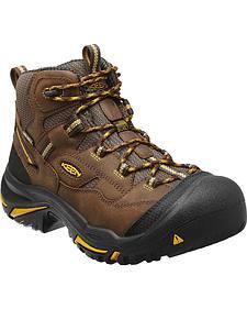 Keen Men's Braddock Mid Waterproof Boots - Steel Toe