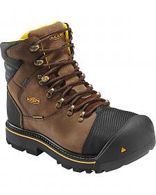 Keen Men's Milwaukee Mid Waterproof Boots - Steel Toe