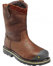 Keen Men's Dallas Wellington Waterproof Boots - Steel Toe