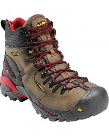 Keen Men's Pittsburgh Mid Waterproof Boots - Steel Toe