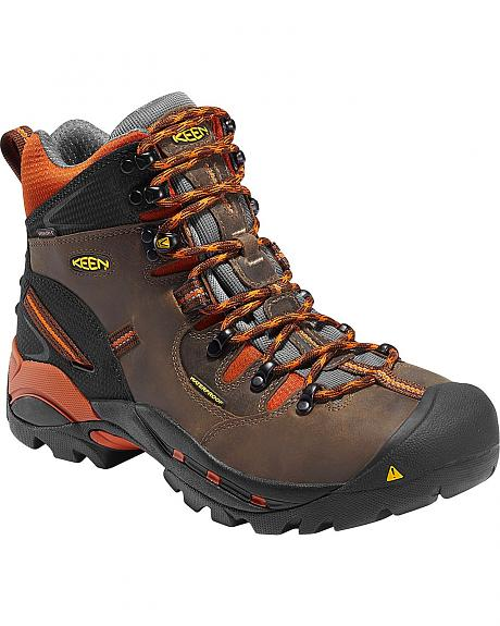 Keen Men's Pittsburgh Mid Waterproof Boots