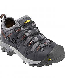 Keen Men's Detroit Low Shoes - Steel Toe