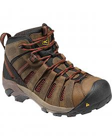 Keen Men's Flint Low Hiking Shoes - Steel Toe