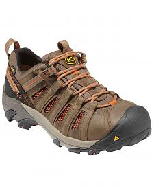Keen Men's Flint Low Shoes - Steel Toe