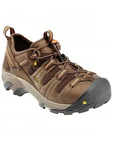 Keen Men's Utility Atlanta Cool Shoes - Steel Toe