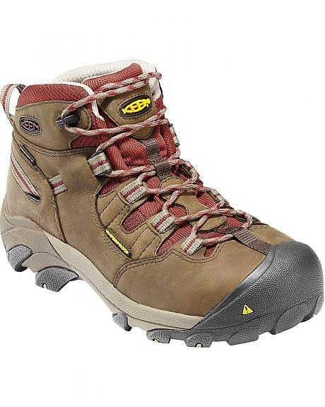 Keen Women's Detroit Mid Waterproof Boots - Steel Toe