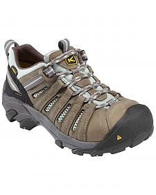 Keen Women's Flint Low Work Shoes - Steel Toe