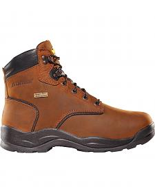 LaCrosse Men's Waterproof Quad Comfort Steel Toe Lace-Up Work Boots