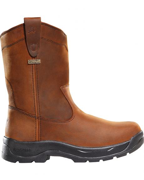 LaCrosse Men's Waterproof Quad Comfort Wellington Work Boots