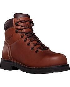 """Danner Workman GTX 8"""" Waterproof Work Boots - Alloy Toe"""