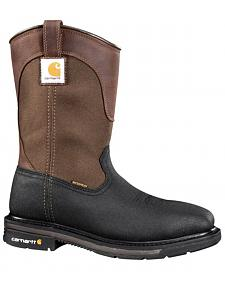 Carhartt Men's Wellington Work Boots - Steel Toe