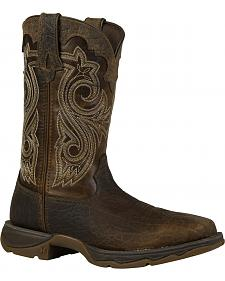 Durango Women's Lady Rebel Steel Toe Cowgirl Boots - Square Toe