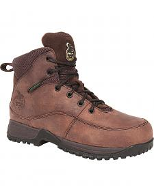 Georgia Boots Women's Riverdale Waterproof Work Boots - Steel Toe