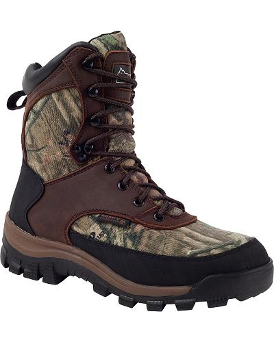 ROCKY Womens Core Waterproof Insulated Boots Western & Country RO019