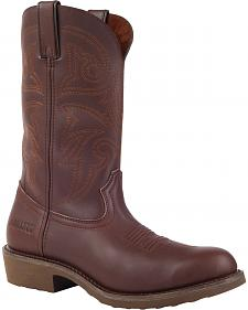 Durango Farm and Ranch Brown Western Boots - Round Toe