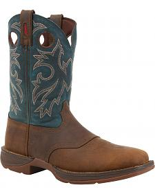 Durango Rebel Pull On Western Boots - Square Toe