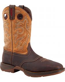 Durango Rebel Waterproof Western Boot - Steel Toe