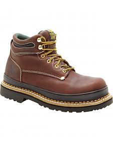 Georgia Giant Oblique Work Boots - Steel Toe