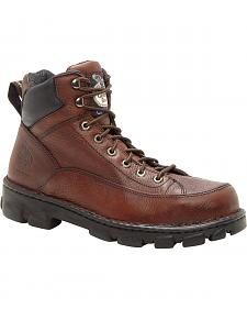 Georgia Eagle Light Wide Load Work Boots - Steel Toe