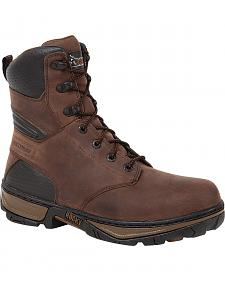 Rocky Men's Forge Steel Toe Waterproof Work Boots