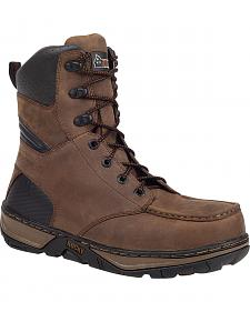 Rocky Forge Waterproof Work Boots - Round Toe