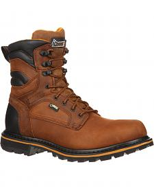 "Rocky 9"" Governor Gore-Tex Waterproof Work Boots - Round Toe"