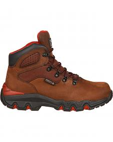 Rocky Bigfoot Waterproof Hiker Work Boots - Round Toe
