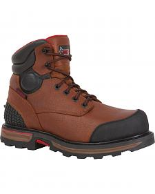 "Rocky Elements Dirt Waterproof 6"" Work Boots - Round Toe"