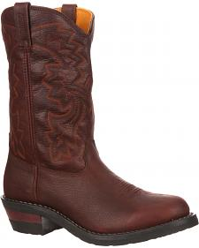 Rocky RanchMaster Waterproof Packer Western Boots - Round Toe