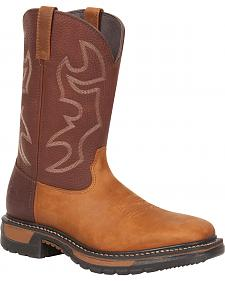Rocky Original Ride Western Boots - Square Toe