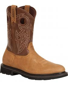 Rocky Farmstead Western Boots - Round Toe