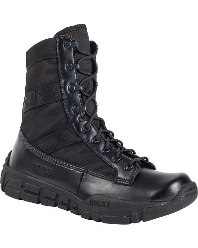 ROCKY Mens C4T Military-Inspired Duty Boots Western & Country RY008