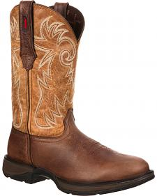 Durango Rebel Western Boots - Safety Toe