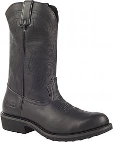 Durango Farm and Ranch Black Western Boots - Round Toe