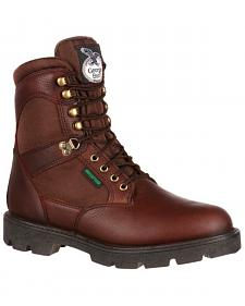 Georgia Homeland Waterproof Work Boots - Steel Toe