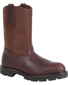 Georgia Homeland Waterproof Wellington Boots - Round Toe