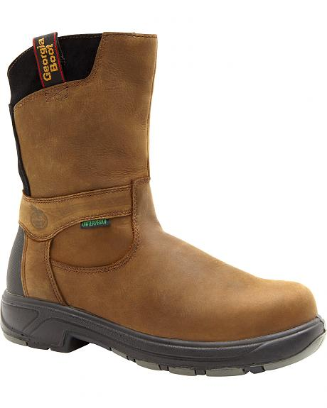 Georgia Flxpoint Waterproof Work Boots - Safety Toe