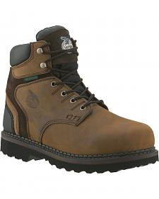 "Georgia Brookville Waterproof 6"" Work Boots"